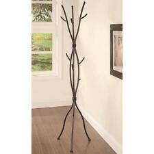 Tree Coat Rack Hat Branches Hook Rustic Hanger Metal Stand Entryway Hall Home