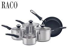 Raco 5-Piece Statement Series Saucepan Set - Stainless Steel