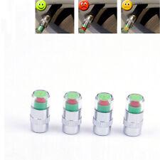 4pcs Car Auto Tire Pressure Monitor Valve Stem Caps Sensor Indicator Eye Alert