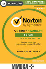 Norton Internet Security 1 PC/2018 1 Año - tecla de descarga - VERSIÓN DE LA UE