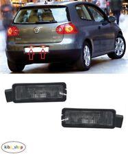 VW GOLF V MK5 2004 - 2009 HATCHBACK REAR NUMBER PLATE LIGHT LAMPS LEFT + RIGHT