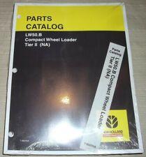 New Holland Lw50b Compact Wheel Loader Tier 2 Ii Parts Manual Book Catalog New