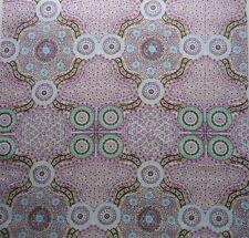 Wild Bush Flowers Australian Aboriginal Fabric Patchwork Quilting Craft FQ New