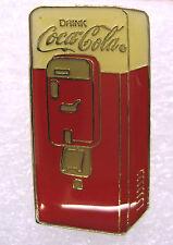 Coca-Cola Vending Machine Lapel Pin Tie Tac 1994 Vendo 88 Enameled Brass Coke