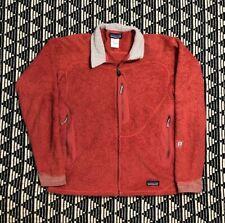 Patagonia Women's Pink Regulator Polartec Fleece Sweater Zip Up Jacket R2 Large