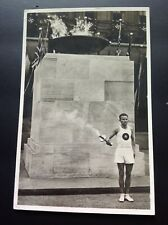 Germany Third Reich Inauguration of Olympic Flame Berlin. 12/8/36. Stadium HS.