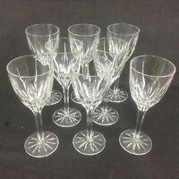MIKASA APOLLO eight Crystal 7 5/8 Inch Wine Glasses