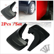 For Car SUV Truck 2Pcs Front Rear Fender Splash Guards & Mud Flaps ABS Plastic