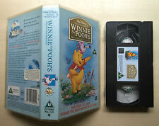 DISNEY - WINNIE THE POOH - THE MOST GRAND ADVENTURE - VHS VIDEO - BRAND NEW
