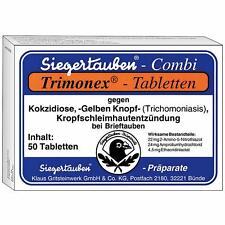 Klaus Trimonex Tabletten 50 Stück - bei Trichomonaden (Gelber Knopf), Kokzidien