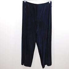 Amanda Smith Women Velvet Elastic Waist Pants, XL
