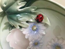 Franz Porcelain FZ00589 Ladybug Tea Lite Holder SRP