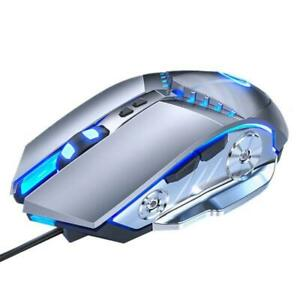 Wired Gaming Mouse Adjustable 3200 DPI Mechanical Mice for Laptop Computer Gamer