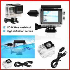 Action Camera Waterproof Case Accessory +Charging Cable for SJCAM SJ4000/SJ7000