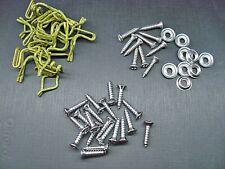AMC Javelin AMX door panel clips screws & sill plate screws chrome/stainless