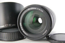 Canon EF-S 55-250mm f/4.0-5.6 IS AF Zoom Lens For Canon ef-s [Excellent