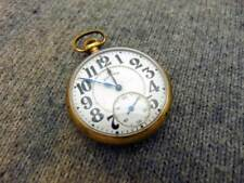 H4A ILLINOIS BUNN SPECIAL 16s 21j Adjusted Gold Filled Pocket Watch Circa 1922