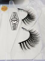 3D Mink Luxury Eyelashes Lashes Long Layered Wispy Fluffy Striplash Volume- F32