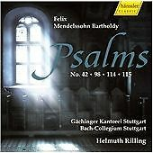 Felix Mendelssohn : Psalms Nos. 42, 98, 114 & 115 (2009) BRAND NEW, SEALED