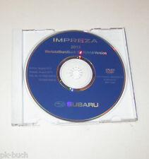 Werkstatthandbuch auf DVD Subaru Impreza - Modelljahre 2012 und 2013!