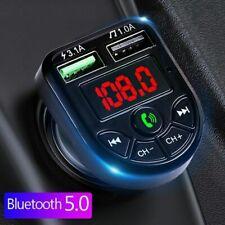 Bluetooth FM Transmitter Auto Audio MP3 Player USB KFZ SD AUX Freisprechanlage
