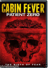 CABIN FEVER: PATIENT ZERO DVD - NEW & SEALED - HORROR - AUTHENTIC US RELEASE