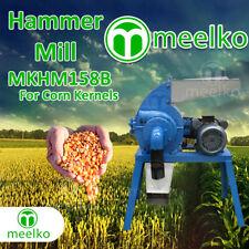 Hammer Mill for Corn Kernels - MKHM158B - USA Stock