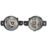 2 Factory Genuine OEM Right + Left Fog Lamp Light For Infiniti G37 JX35 M35 QX60