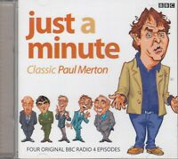 Just A Minute Classic Paul Merton 2CD Audio Comedy BBC Radio 4 Nicholas Parsons
