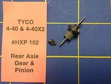 Tyco 440X2 Rear Axle Gear and Pinion Ho Slot car HXP102 Mid America Raceway
