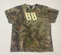 Dale Earnhardt Jr 88 Chase Authentics Mens T-Shirt Multicolor Camouflage XXL