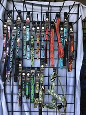 NWT Dog Pet Collars & Leashes, Lupine Brand Lifetime Guarantee- Animal Patterns