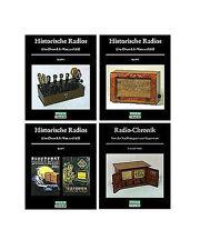 Radio-Chronik + Historische Radios, Teil 2, Bde. 3,4 und 5