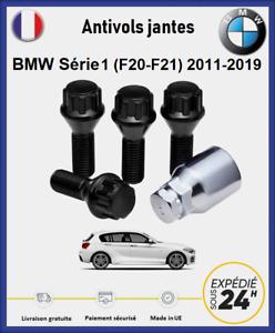 Ecrous antivol de roues noir BMW Série 1 (F20/F21) 2011-2019