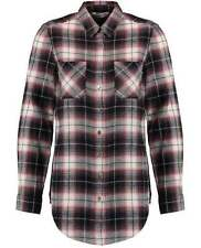 Collared Check Regular Size Tops & Blouses for Women