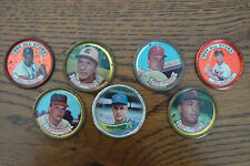 Lot of 7 Topps Metal Coin Caps Baseball Players All Stars White McMillan Battey