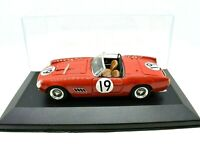 Model Car Ferrari 250 Spyder California N.19 Scale 1/43 Art Model diecast