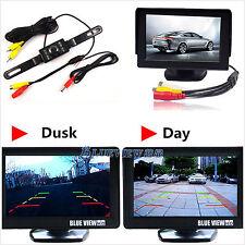 """Car SUV Rear View IR Night Vision Digital Camera+4.3"""" TFT LCD HD Display Monitor"""