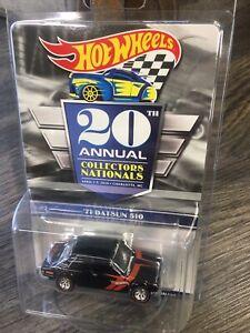 2020 Hot Wheels 20th Nationals Convention #3 Series Car '71 Datsun 510
