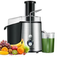 More details for laptronix electric juicer machine fruit vegetable citrus juice extractor 1000w