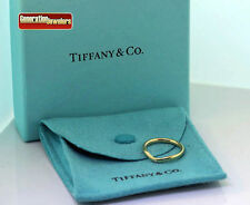 Elsa Peretti for Tiffany & Co. Diamond Wedding Band Ring 18K Yellow Gold Size 4
