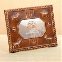 Deer Tin Tile 4x6 Picture Frame from Big Sky Carvers Home Decor