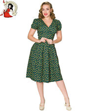 Sheen Valentina 50s Dress Floral Vintage Style