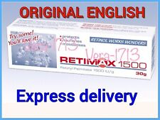 RETIMAX 1500 Retinol Cream, Vitamin A,Anti Ageing,Wrinkle Filler,Dry hands 30g