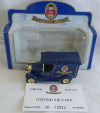 OXFORD DIECAST BULL NOSE MORRIS VAN DIECAST BOXED LIMITED EDITION