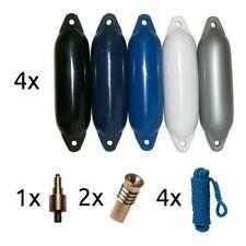 Komplettset 4 Stück Majoni Star Fender Bootsfender Rammschutz Boot mit Zubehör