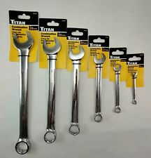 Titan Polished Individual Metric 12 Pt Wrench Choice Of Sizes 6mm 29mm