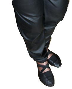Bleyer 610 Prima LX schwarz RSG Schläppchen Gymnastikschuhe Ballettschuhe