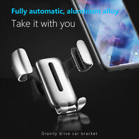 Universal Gravity Car Air Vent Mount Holder Stand Mobile Cell Phone GPS Stand