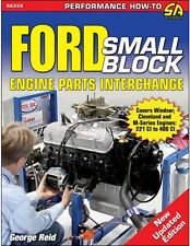 Ford 351 Cleveland, 351M & 400 Engine Parts Casting Number Interchange ID Book
